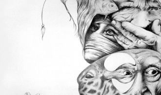 Eternal Mystery Farewell, Pen Graphic Arts, 85х55